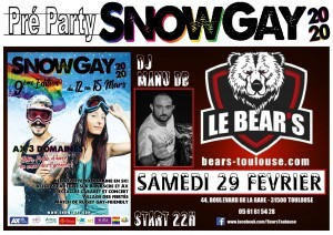 Preparty Snow Gay